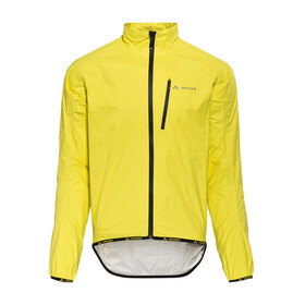 VAUDE Drop III Jacket Men yellow